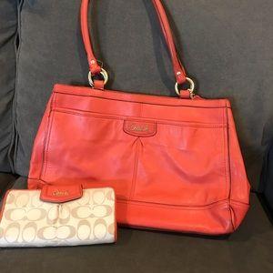 Coach Bags - Coach purse and matching coach wallet